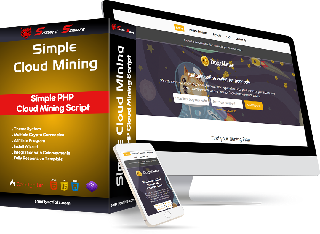 SCM Simple Cloud Mining Script