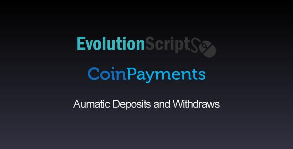 Coinpayments Addon for EvolutionScript